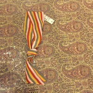 Madewell beautiful mini silk wrap scarf